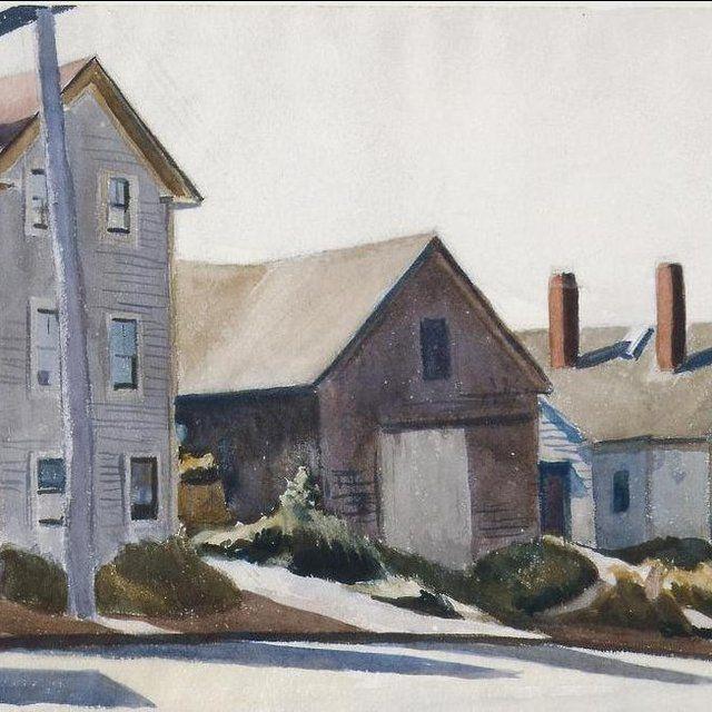 Pin By Babette Neils On Edward Hopper