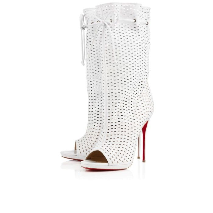 best website 1282e ac536 Rasheeda's Christian Louboutin Jennifer Perforated Leather ...