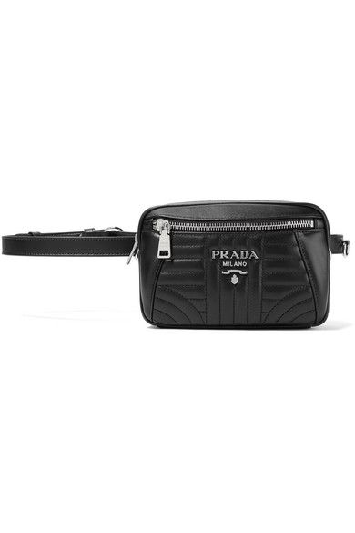 eccabc568 Prada - Quilted leather belt bag | Belt Bags/ Fanny Packs | Leather ...
