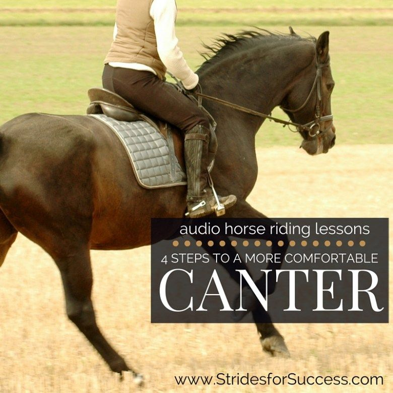 how to canter western style