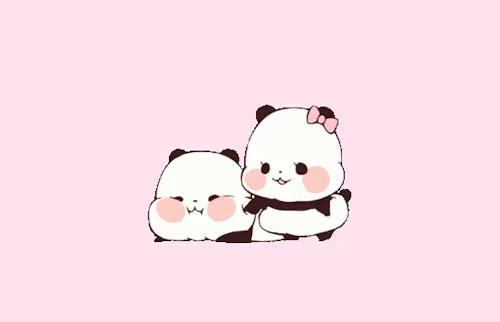 Image Result For Kawaii Cute Panda Wallpaper Cute Love Gif Kawaii Panda