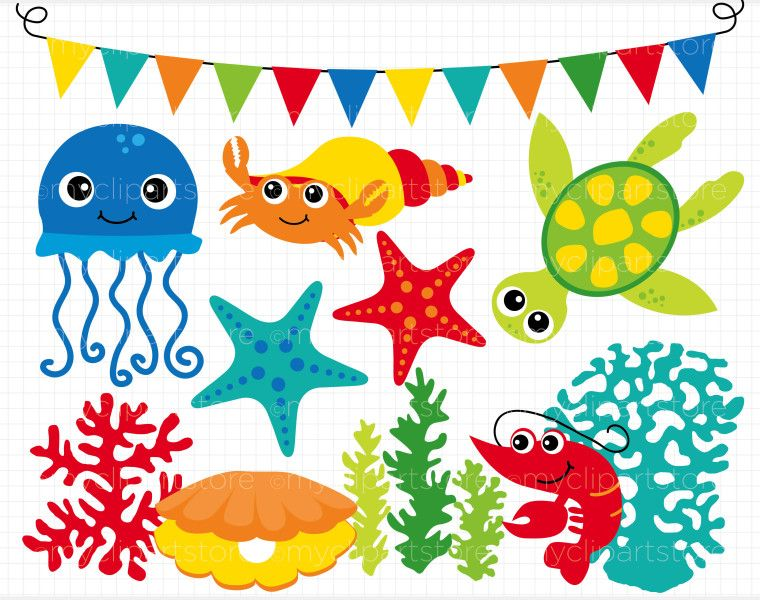 ocean classroom clipart | ... also be studying sea animals and the ...