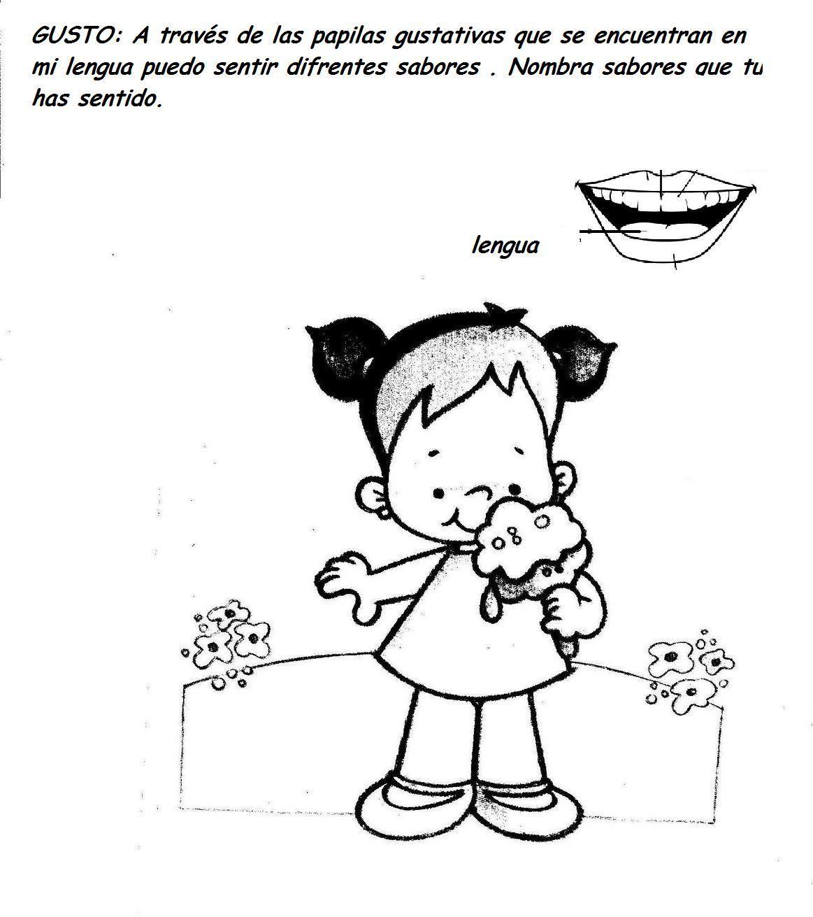 Ninos Oliendo Perfume Para Colorear Buscar Con Google Activities Educational Activities Preschool