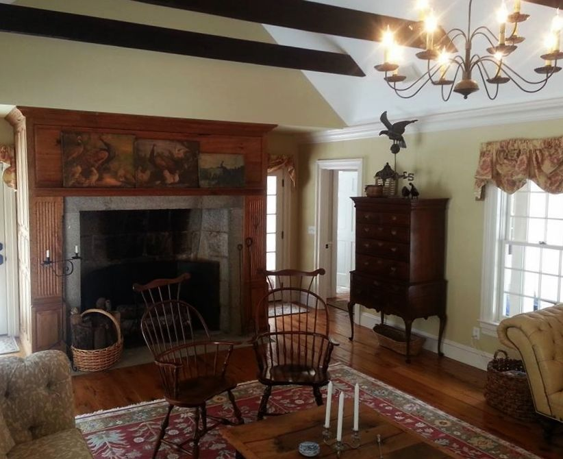 Classic colonial homes interior living room house for Classic colonial homes