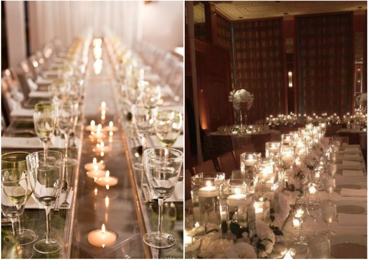 Wedding Reception Ideas The Magic Of Candlelight Modwedding