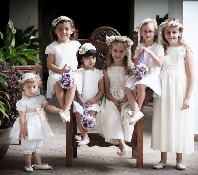 Los pajes de la boda: recomendaciones para vestirlos bien | Pajes ...
