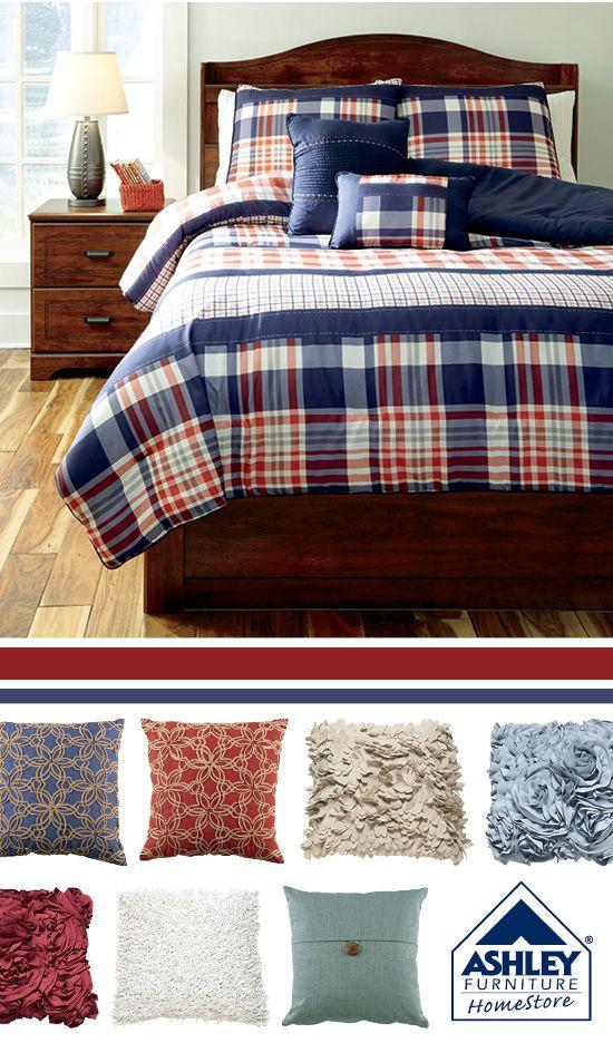 Milam Comforter Set Ashley Furniture Home