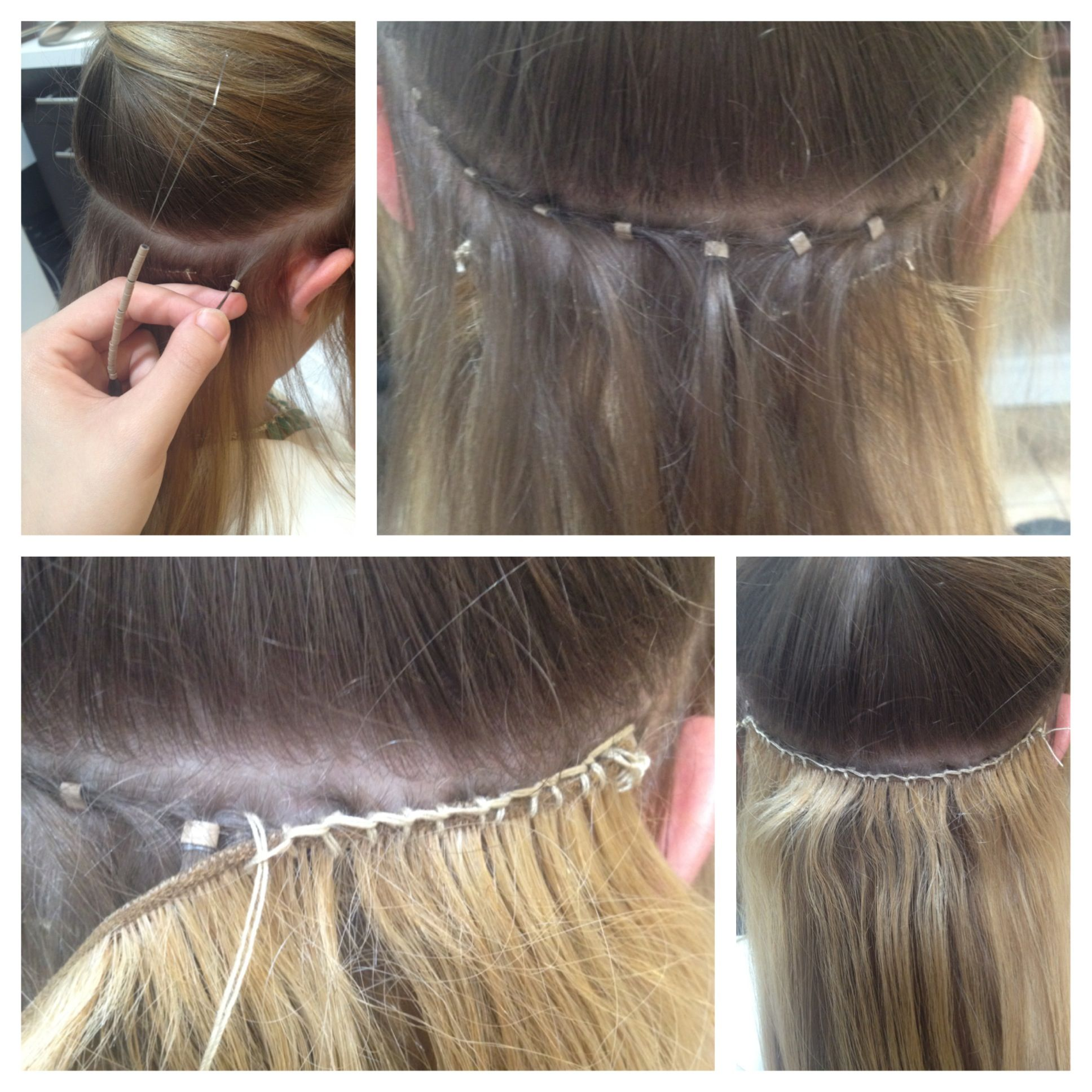 Stress Free Hair Extensions Sew In Hair Extensions Hair Extensions Tutorial Micro Bead Hair Extensions