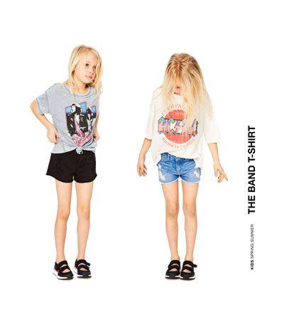 Alles Sehen T Shirts Madchen 4 14 Jahre Kinder Zara Deutschland Girls Tshirts Shirts For Girls Kids Fashion