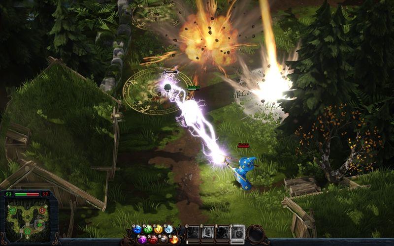 Magicka Wizard Wars Alpha Sign Ups Are Underway Game Design Game Art Paradox Interactive
