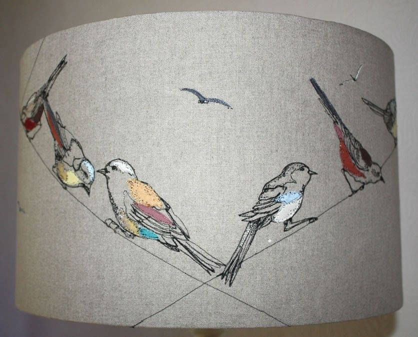 Lara Sparks Embroidery - Embroidered Lampshades, http://larasparks ...