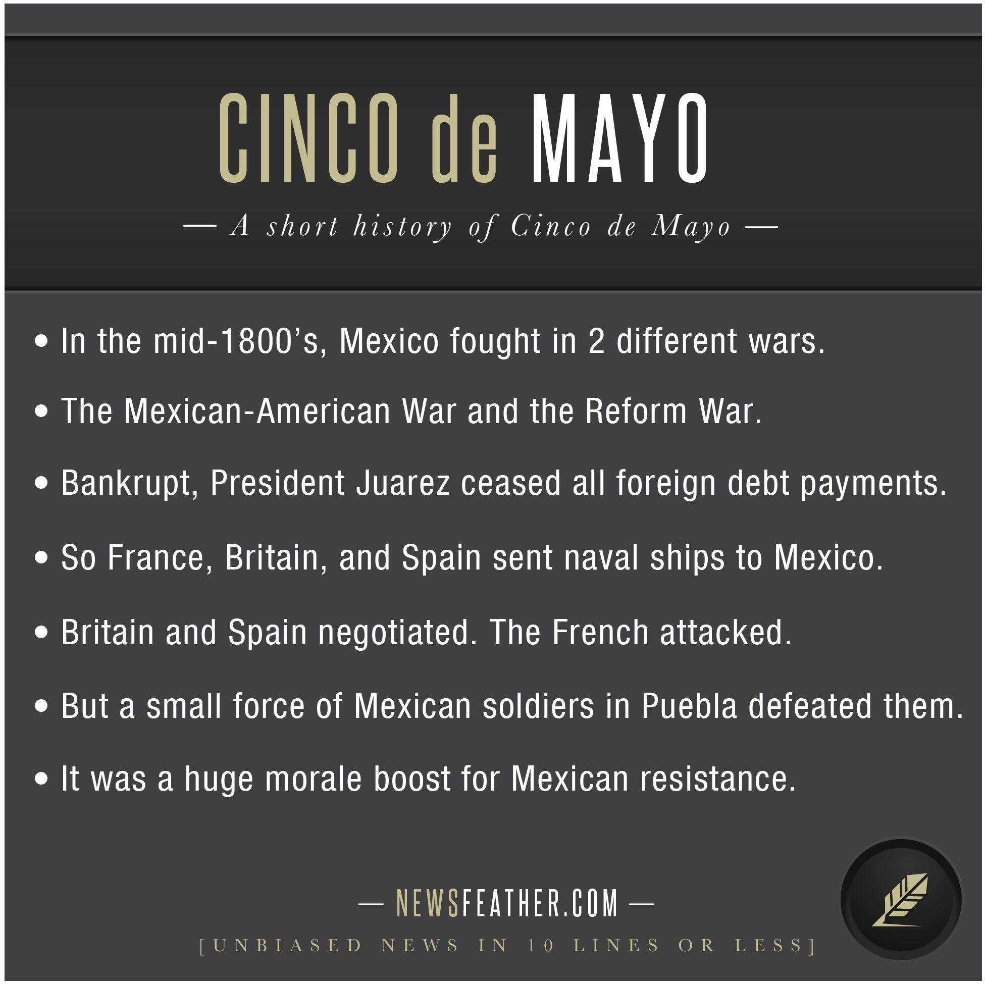 A Short History Of Cinco De Mayo Description From