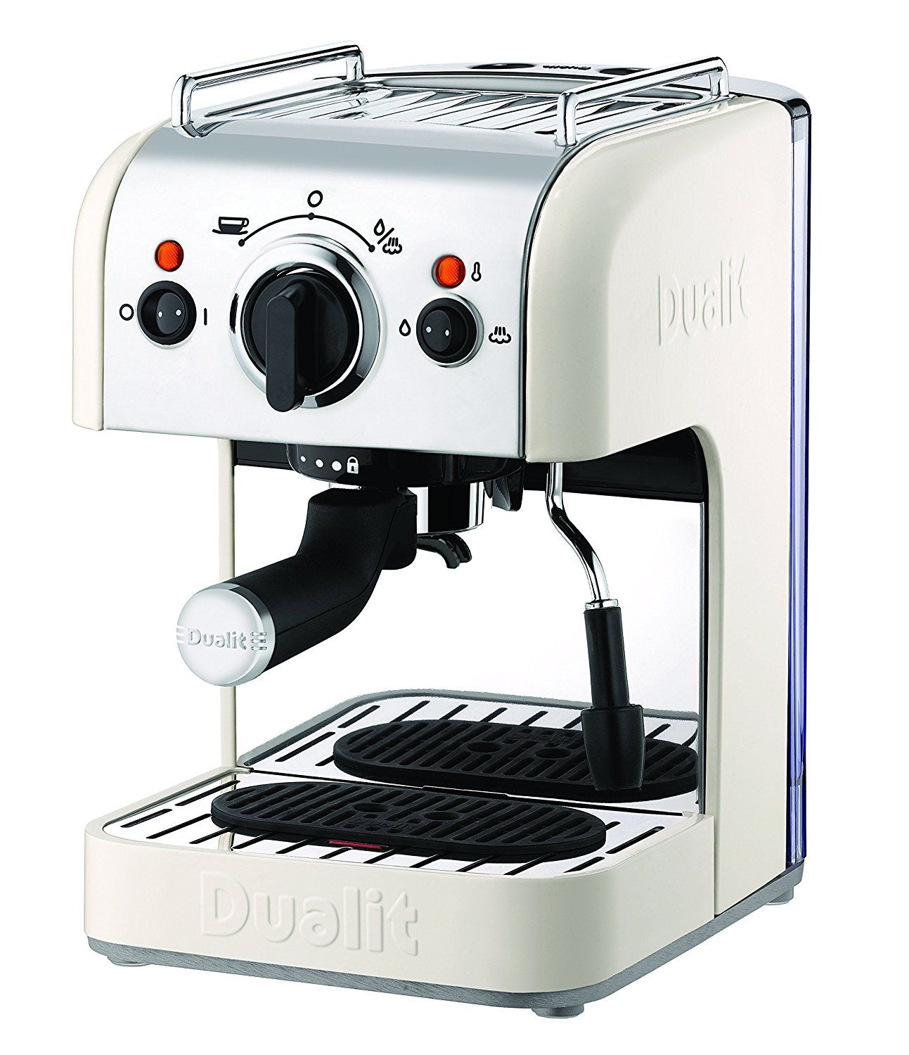 Dualit 4In1 Coffee Machine, 84443 Canvas White