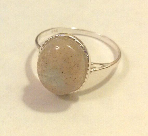 LABRADORITE Gemstone .925 STERLING Silver by CherylsStixAndStonz, $17.00