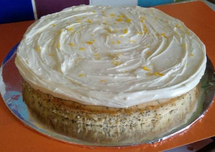 Recipe: Perfect Vickys Orange Poppy Seed Cake, GF DF EF SF