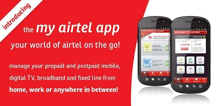 Airtel postpaid bill Recharge availability gives one the liberty to