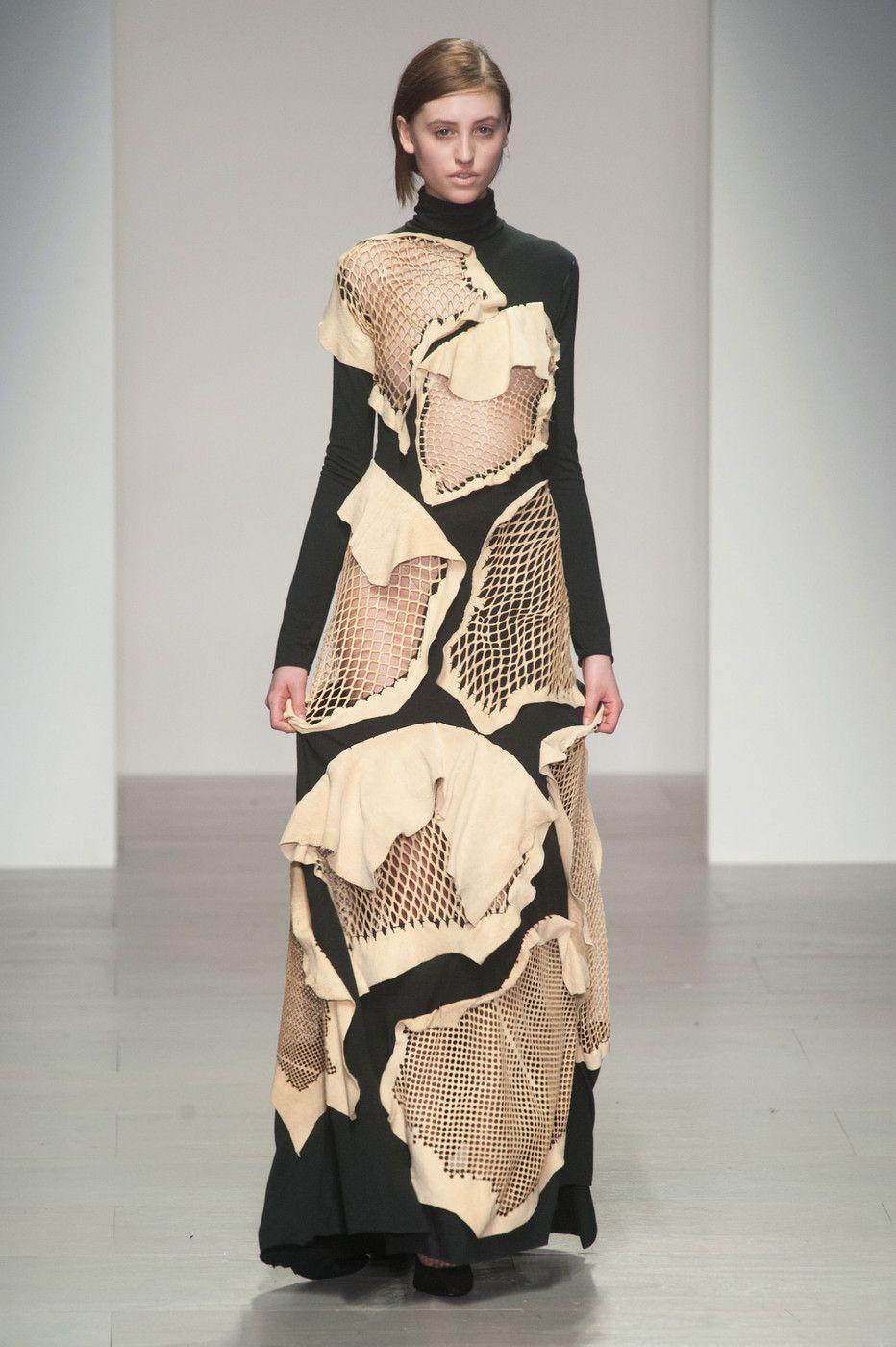 Central Saint Martins at London Fashion Week Fall 2014