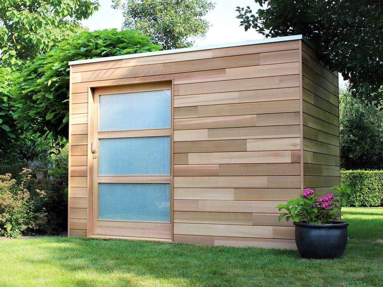 cubeco modern tuinhuis producten op maat tuinhuizen poolhoouses carports woodstar