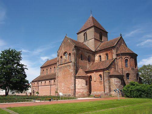 Münsterkirche Schwarzach 1140 bis 1190 AD, Baden-Wurttemberg, DE