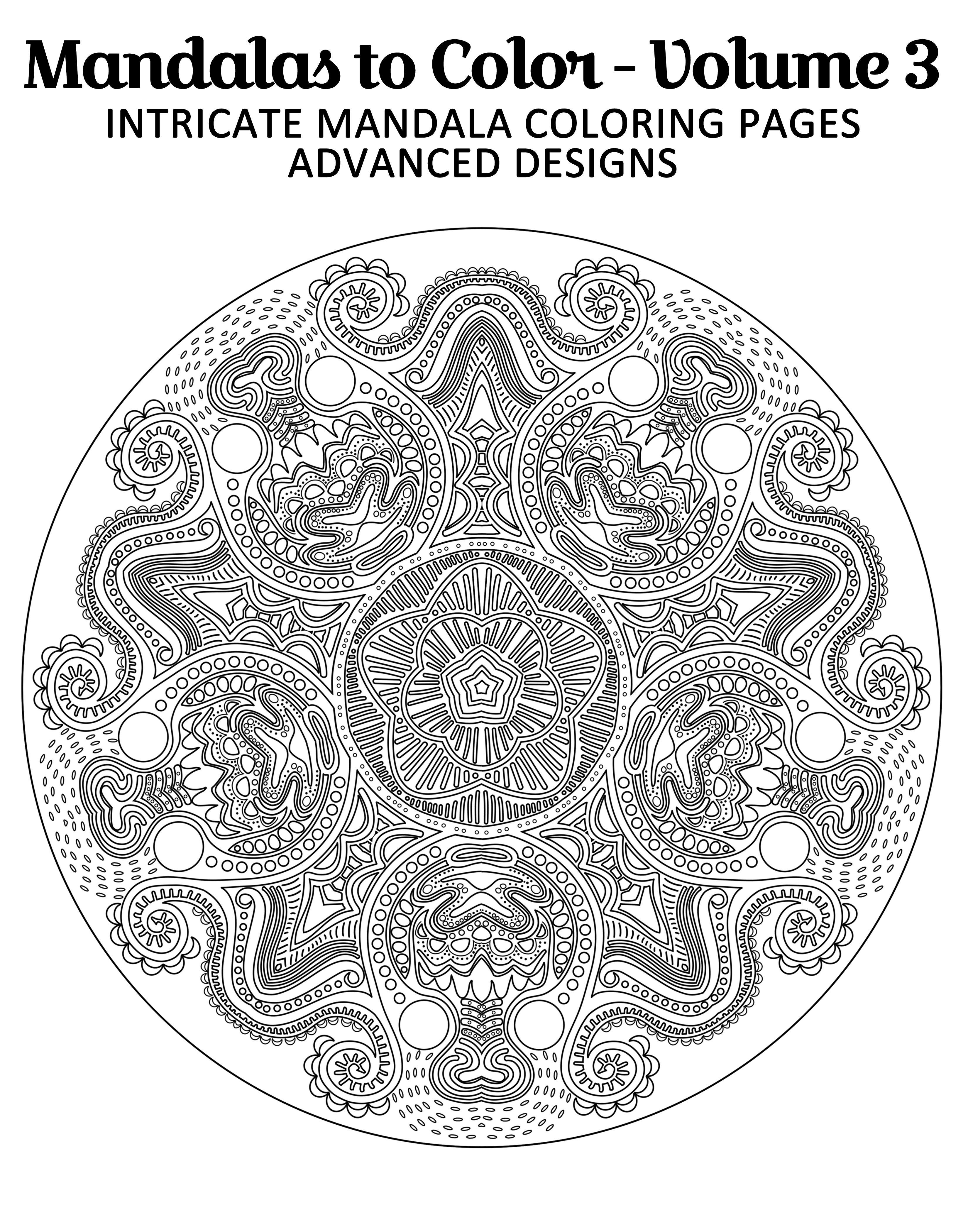 Make Coloring As Your Fun Way To Relax Get Free Mandala Image From Mandalas To Color Intricate Mandal Mandala Coloring Pages Coloring Pages Mandala Coloring
