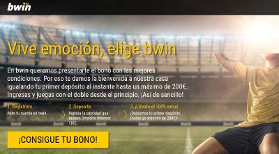 Bwin Bono Bienvenida 100 200 Euros El Forero Jrvm Y Todos Los Bonos De Deportes Deportes Emociones La Promocion