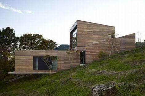 Casas con terrenos inclinados buscar con google cabin - Terreno con casa ...
