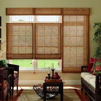 Bali Natural Woven Wood Shade Wood Shades Bamboo Window Shades Woven Wood Shades