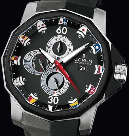 corum tides set it once and it will tell you high low tides corum makes great timepieces i used to love their skeleton wasn t too much of a fan of the bubble but i love this watch