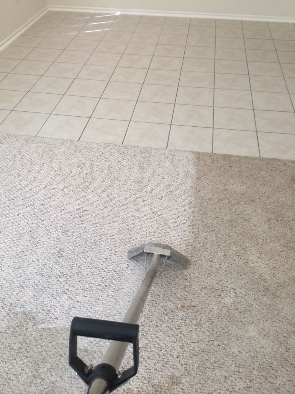 Carpet cleaning experts in action How to clean carpet