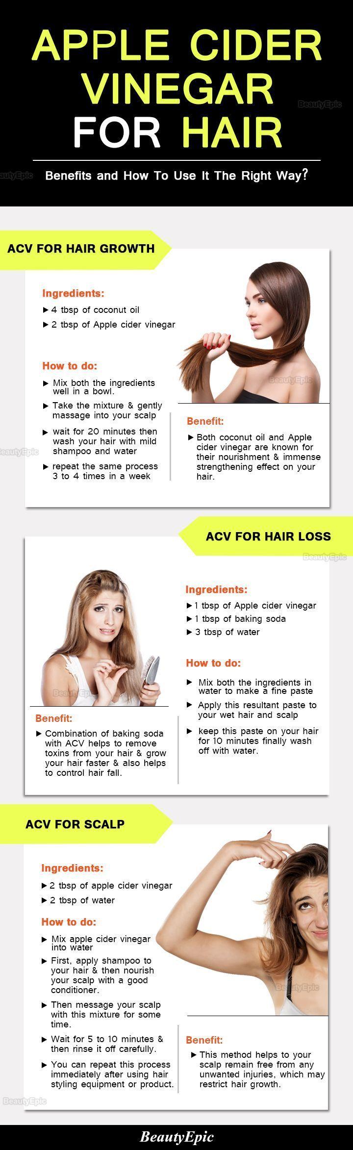 to Use Apple Cider Vinegar for Hair? Apple Cider Vinegar for Hair Benefits and How To Use It The Right WayApple Cider Vinegar for Hair Benefits and How To Use It The Right Way