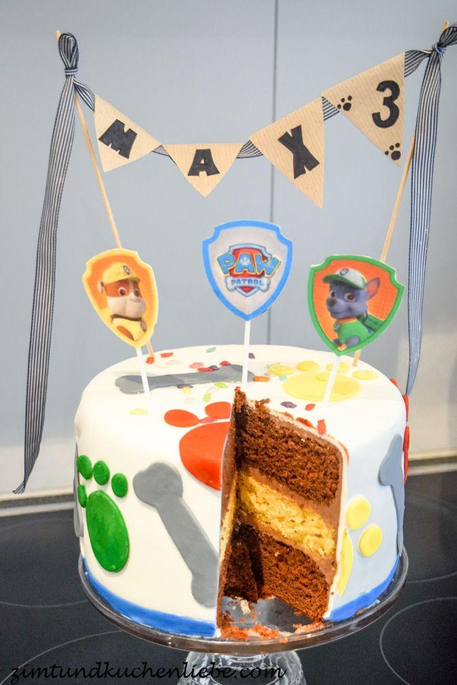 Paw Patrol Schoko-Orangen Torte – Geburtstagskuchen