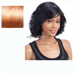 Equal (SNG) Green Cap Wig 007 - Color OS27613 - Synthetic (Curling Iron Safe) Regular Wig