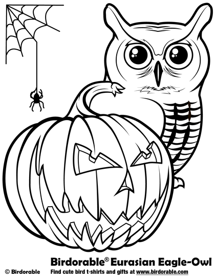 Halloween Owl Coloring Pages For Kids Owl Coloring Pages Halloween Coloring Halloween Coloring Pictures