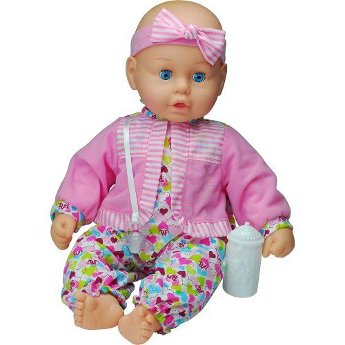 Goldberger Air Baby Unbelievable Soft 19 Inch Baby Doll