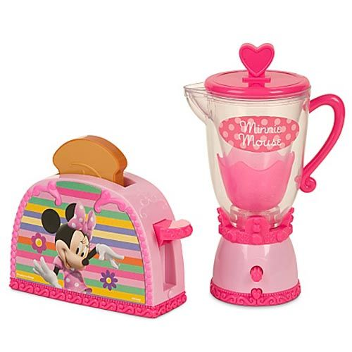 Disney Store: Minnie Mouse Kitchen Play Set | Disney Dreaming ...