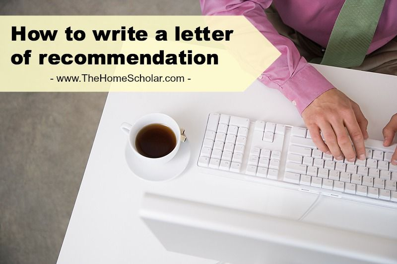 The best letters of recommendation will come from someone who knows - college recommendation letters