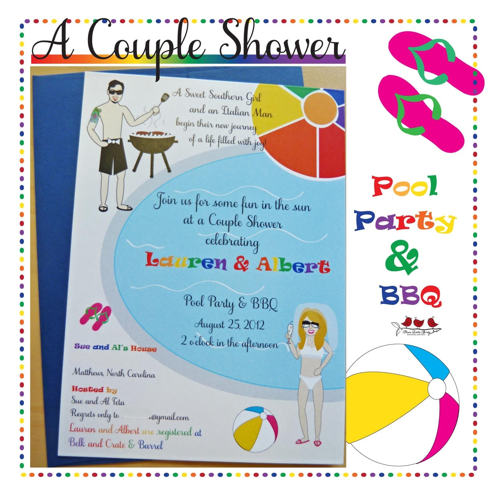 Baby Shower Pool Party Invitation Wording | http://atwebry.info ...