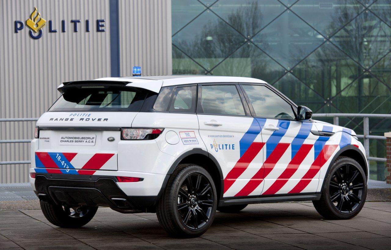 RangeRover Evoque Dutch Police Politie, Brandweer