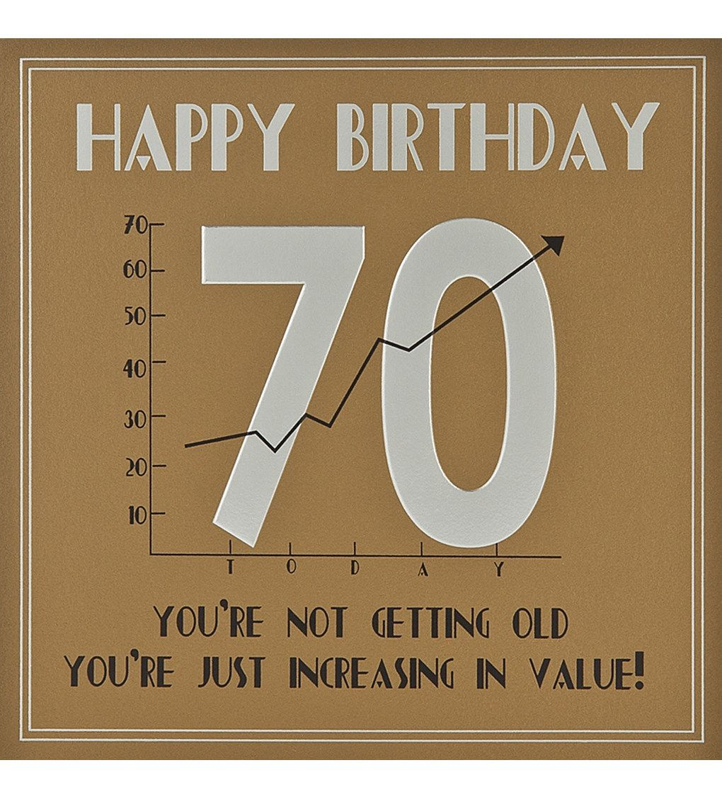FIVE DOLLAR SHAKE - 70th Birthday Card