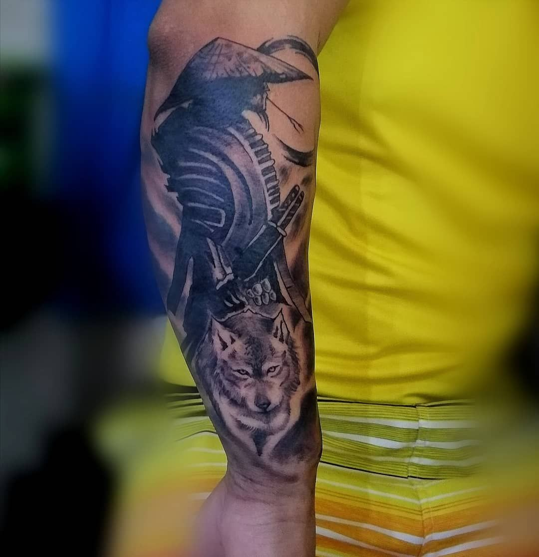 🌀👁️∆ LeóNéctArTattoo∆👁️🌀 #tatt #arte #tatts #art #drawing #tatuaje #tatuajes #tattoos #tattoo #dibujo #tattooart #tattooartist #artists #artistic #ink #inked #tattoolover #tattooink #blackwork #blackworktattoo #blacktattoo #tattoostyle #tattooworkers #tattoowork #tattooist #tattooed #tattoolife #samurai #lobo #wolftattoo