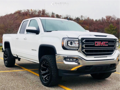 2016 Gmc Sierra 1500 Fuel Assault General Grabber At2 Gmc Trucks