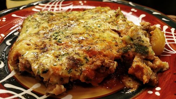 Pizza Burger Casserole 8oz Ground Beef 4 Eggs 2 Egg Whites 1 C Shredded Zucchini 1c Wf Mari Ideal Protein Recipes Ideal Protein Diet Low Sodium Pizza