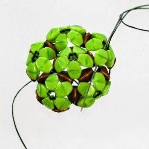 Spirala beading: Tutorial - Zuzana Beaded Bead
