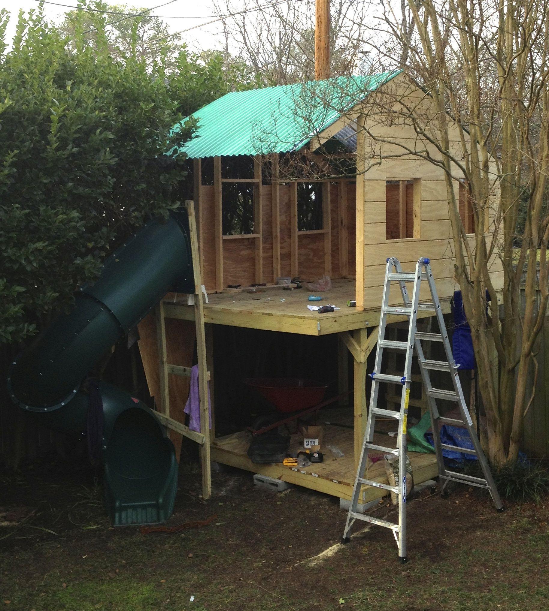 Backyard Fort, Backyard Treehouse