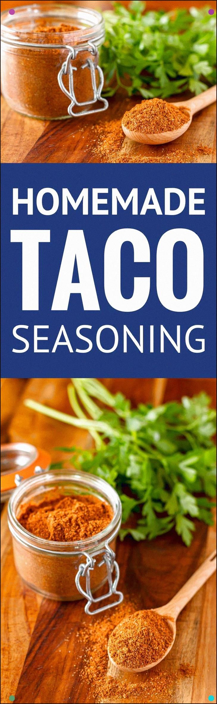 Homemade Taco Seasoning Mix - Make Your Own All Purpose Taco Meat Seasoning And Youll Never Go Back To The Icky Processed Store Bought Version Again... Simple, Less Expensive, Preservative-Free And Whole30 Approved Taco Seasoning Recipe Diy Taco Seasoning Whole30 Taco Seasoning Beef Taco Seasoning Chicken Taco Seasoning Find The Recipe On #diytacoseasoning