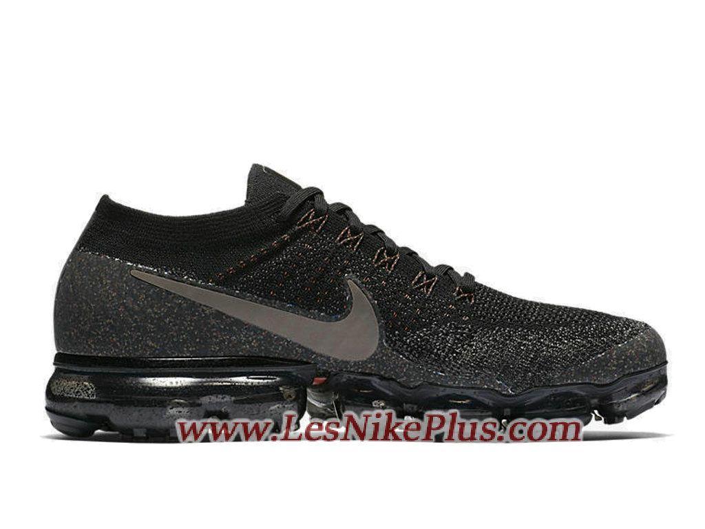 Sneaker NikeLab Air VaporMax Dark Mushroom Chaussures Nike 2018 Pas Cher  Pour Homme Noir 899473-