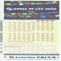 Espaco Loterias Resultados Dicas Palpites Desdobramentos Jogos Quina Especial De Sao Joao 2017 Loteria Periodic Table