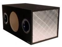Obcon Single 12inch Hidden Chamber Hatchback Sub Woofer Box More Info Could Be Found At The Image Url Car Audio Subwoofers Car Subwoofer Box Car Subwoofer
