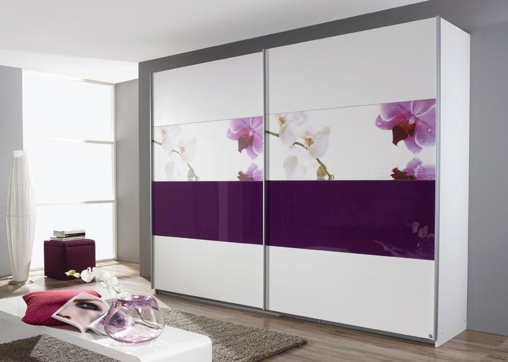 Schrank Soluno 1810 Weiss Mit Motiv Orchidee 8416 Buy Now At
