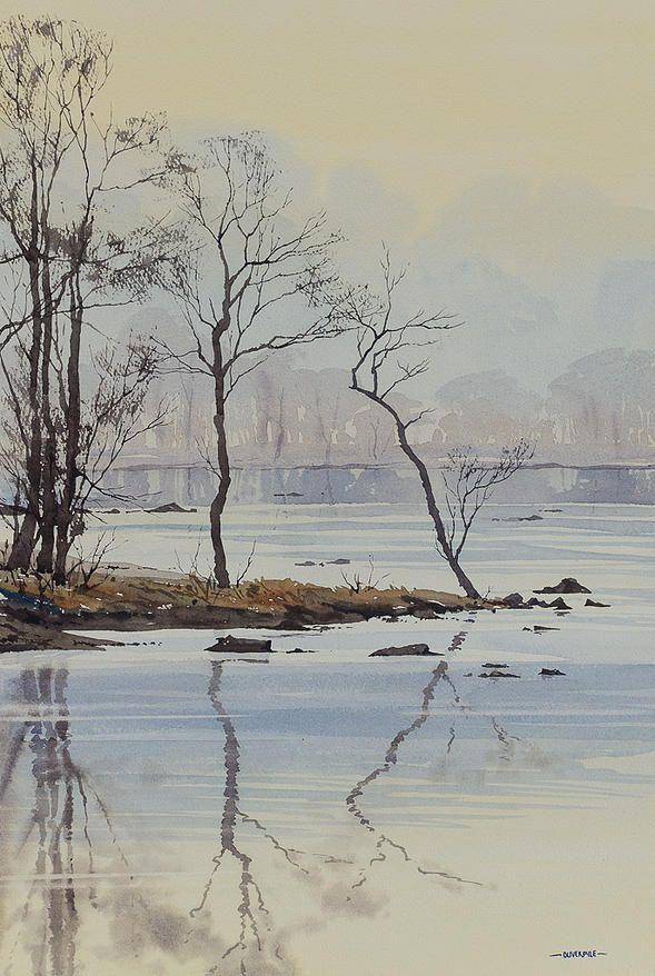 Oliver Pyle Fine Art Watercolour Paintings Landscape